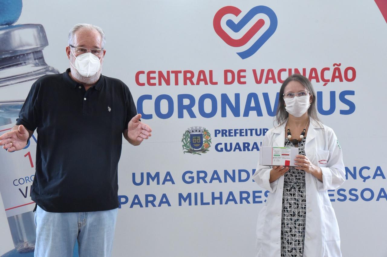 Guararema pretende imunizar 90% dos trabalhadores da rede pública de saúde nesta semana