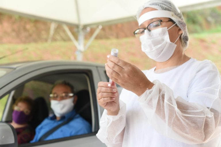 Guararema atinge a marca de 3 mil moradores que já receberam a vacina